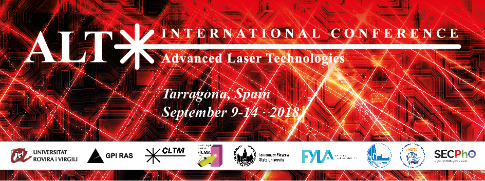 International Conference on Advanced Laser Technologies